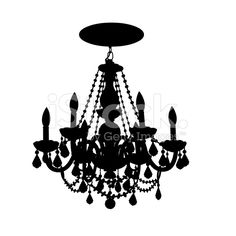 Close-up of a chandelier royalty-free 스톡 벡터 아트