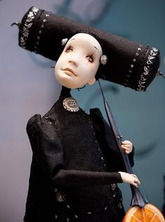 Whimsical  Doll from the Moscow Art of Dolls Expo.