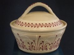 Red accented casserole dish