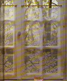 1000 images about rideaux crochet on pinterest crochet for Les rideaux de la cuisine