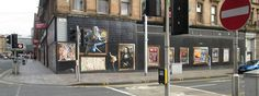 These images are on the corner of York Street and Argyle Street, about 300 yards west of Central Train Station Bridge. This is work created by Sam Bates (Smug).