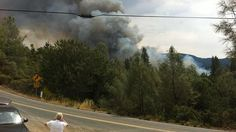 The 50 acre Valley Fire prompts mandatory evacuations in the town of Cobb in Lake County, Calif, on Saturday, September 12, 2015.