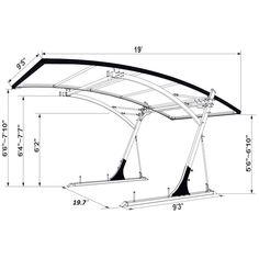 4 Unique Tips and Tricks: Steel Canopy garden canopy fabric.Wedding Canopy Inspiration canopy tent over bed. Carport Garage, Pergola Carport, Pergola Kits, Pergola Ideas, Carport Ideas, Cheap Pergola, Diy Pergola, Patio Ideas, Backyard Canopy