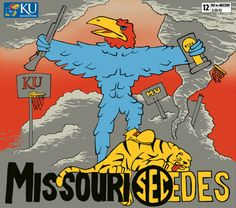 Missouri leaves the conference.  Sha-na-na-na, hey, hey, hey, goodbye!  Last game 2012 season.