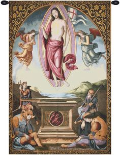 Resurrection Tapestry Wall Art Hanging
