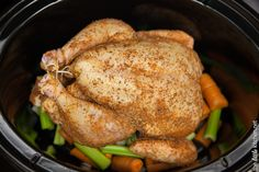 The Best Whole Chicken in a Slow Cooker Recipe. Sounds different and interesting. If using a big lemon, only use 1/2. I'm not sure we will like too much lemony flavor.