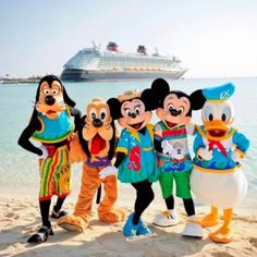 Book your dream vacation with a Disney Cruise!  Contact Anna Mullins of Magic of Mickey Travel 423-227-6823