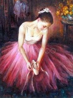 - Ballet Paintings - We offer high quality oil painting reproductions of old masters and contemporary at wholesale prices, custom sizes, custom paintings available. Dance Paintings, Cross Paintings, Oil Paintings, Ballet Art, Ballet Dancers, Oil Painting Flowers, Oil Painting Abstract, Ballerina Kunst, Ballerina Painting