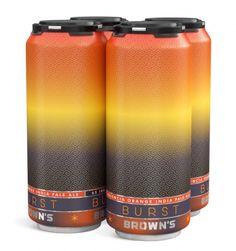 Brown's Brewing Cans | Oh Beautiful Beer