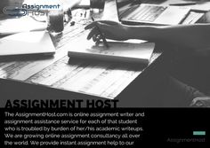 Avail best assignment help and solutions from assignment experts