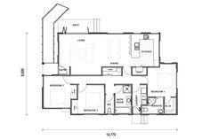Versatile Nelson Floor Plan   Three Bedroom Floor Plan   Show Home Bedroom Floor Plans, Gladstone, House Plans, Layout, Homes, Flooring, How To Plan, Building, Houses