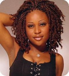 Admirable Kinky Twists Twist Hairstyles And Twists On Pinterest Hairstyle Inspiration Daily Dogsangcom