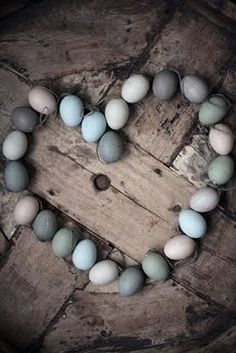 love this - we admire the beauty of our eggs every day - beautiful little works of art