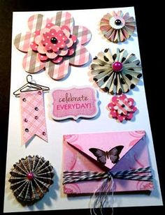 3d Embellishments for Scrapbooking Cards & other by StampinMania, $5.95