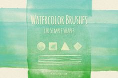 130 Simple Shapes Watercolor Brushes ~ Brushes on Creative Market (https://creativemarket.com/mindfulpixels/4204-130-Simple-Shapes-Watercolor-Brushes?utm_source=CMblog&utm_medium=link&utm_campaign=how-to-make-an-animated-gif-in-photoshop-2014-style)