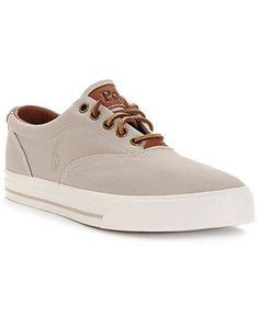 Polo Ralph Lauren Vaughn Sneakers - Sneakers & Athletic - Men - Macy's  $49.99
