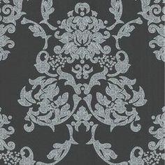 Suzanne Black & White Wallpaper by Marcel Wanders
