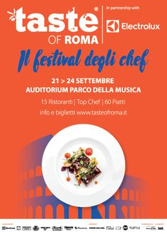 This 6th edition of the 'Taste Of Roma' festival kicks off on 21st September 2017 at Rome's Auditorium Parco della Musica. Lasting four days, until the following Sunday, this food extravaganza show brings together some of the most exciting chefs in the capital, as well as cooking demonstrations, food tasting and sampling, and some exclusive cooking experiences. There is an added feature to this year's... More info http://www.romaterminisuites.com/news/20170915-Taste-Of-Roma-2017-In-Rome.html