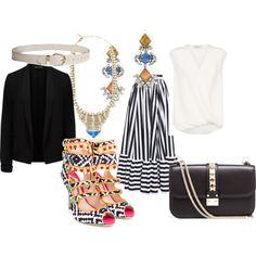 Senza titolo #2345 by noemydifiore on Polyvore featuring moda, 3.1 Phillip Lim, Forever New, Dolce&Gabbana, Sophia Webster, Valentino and DANNIJO