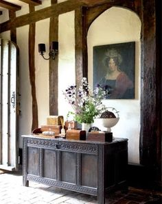 Tudor Style Homes Interior, Tudor House Interior, Country House, House… Tudor House, Cottage Tudor, Ivy House, Cottage Style, Estilo Tudor, English House, English Tudor, English Cottages, Maison Tudor