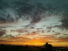 Okaloosa island Florida sunset