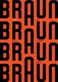 An international group of graphic designers respond to the systematicity of Braun Design. Identity Design, Logo Design, Graphic Design Typography, Graphic Design Illustration, Print Design, Typography Fonts, Graphic Prints, Brand Identity, Logo Inspiration