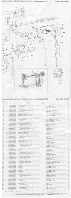 Sewing Machine Parts Diagrams juki 40 Pinterest Juki and Diagram Extraordinary Juki Sewing Machine Parts