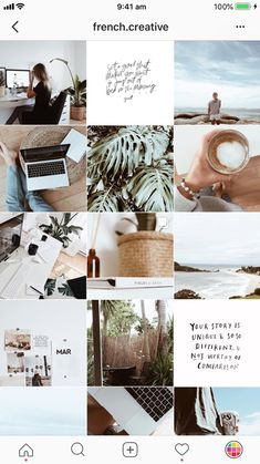 Discover recipes, home ideas, style inspiration and other ideas to try. Instagram Design, Instagram Blog, Layout Do Instagram, Canva Instagram, Best Instagram Feeds, Instagram Feed Ideas Posts, Instagram Inspiration, Instagram Grid, Creative Instagram Stories