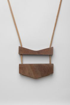 Totokaelo - Julie Thevenot - Big Bang Double Necklace - Wood