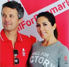 This morning, Prince Frederik and Crown Princess Mary visited the Olympic Village where they met the Danish and Australian athletes. Tonight they will attend the opening ceremony of the Olympics in the company of Prince Joachim and Princess Marie.