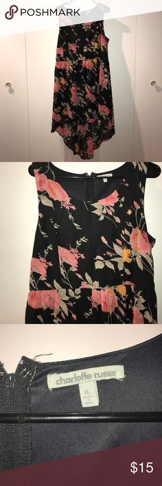 Dress Size xl from Charlotte Russe. Longer in the back Charlotte Russe Dresses