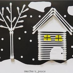 Christmas Crafts For Kids To Make, Kids Christmas, Diy For Kids, Winter Activities For Kids, Art Activities, Puppet Crafts, Winter Art, Preschool Crafts, Ideas