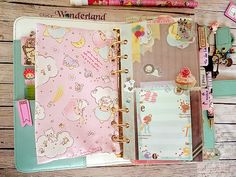Lucy-Wonderland: Una tasca con la zip per Planner