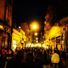Open air plaza dancing, music, mate sipping in San Telmo!