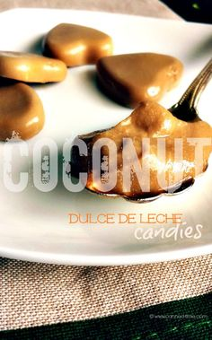 Vegan Coconut Dulce de Leche Candies and Sauce - from Canned-Time.com