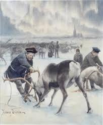 Image result for Johan Tirén Beauty In Art, Lappland, Nordic Art, Arctic Circle, Finland, Art History, Reindeer, Norway, Illustration Art