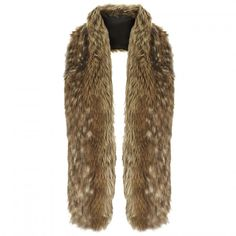 Topshop Faux Fur Stole for Christmas Eve