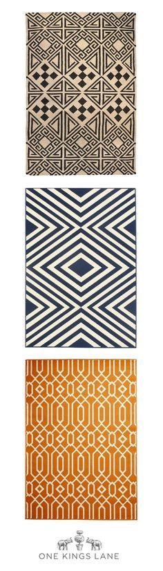 An outdoor rug is a great way to define your space. Use these helpful outdoor rug tips: Layer Up: Interior And Exterior, Interior Design, First Home, My Dream Home, Outdoor Rugs, Decoration, Textile Design, Home Projects, Diy Home Decor