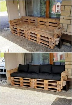 What Can You Make with Wood Pallets? Easy Projects You will probably be finding this creation of wood pallet so eye-catching and peacefully attractive looking. Well, this creation is dedicatedly designed in the artistic.