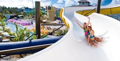 Pirates Island Waterpark at Beaches' Kid-Friendly Vacation Resort! Beaches has the biggest waterparks in the Caribbean. I can not wait!! #BeachesMoms