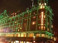 harrods christmas lights -