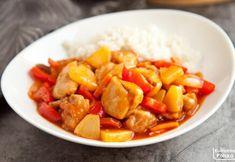 Kurczak w sosie słodko-kwaśnym. Przepis na słynne danie kuchni chińskiej Sweet Potato, Potatoes, Vegetables, Cooking, Foods, Diet, Chinese, Kitchen, Food Food