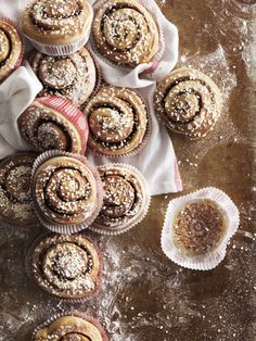 Delicious cinnamon buns easy to prepare Cinnamon Rolls, Cinnamon Sticks, Ikea Portugal, Coffee Break, Tray Bakes, A Table, How To Memorize Things, Food Porn, Frozen