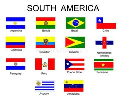 Latin American Flags, South American Countries, Countries And Flags, Countries Of The World, All World Flags, World Country Flags, Flags With Names, Asia Map, General Knowledge Facts