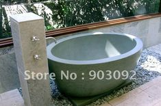 hot selling outdoor spa bath nature stone tub revolution series-in Bathtubs  Whirlpools from Home Improvement on Aliexpress.com $3,684.21