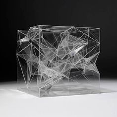 I haven't a clue what this is other than a mess of points in a sort of cube.