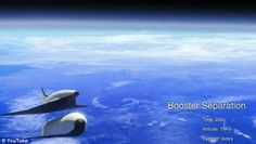 Hypersonic SpaceLiner booster seperation.