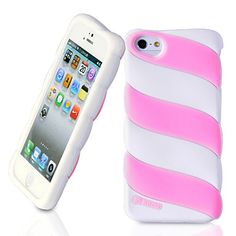 Cotton Candy Design Silica Gel Soft Case for iPhone 5 (Assorted Colors) $5.99