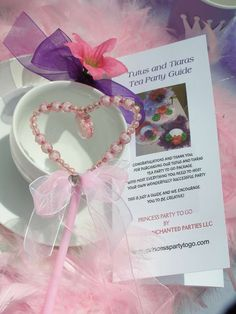 Tutu Sweet Tea Party   CatchMyParty.com