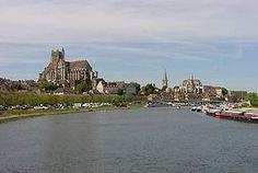 L'Yonne à Auxerre.